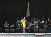Sunfest onstage