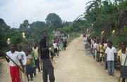 JOURNEE MONDIALE DU SIDA AU GROUPE SCOLAIRE BILINGUE LES POUSSINS DE NSAPE