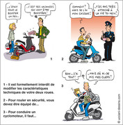 Le scooter