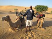 Ibrahim and some camels