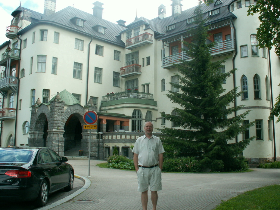 Me and the State Hotell in Imatra