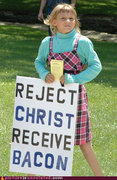 Reject Christ, Receive Bacon