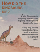 how dinosaurs died