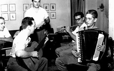 Garoto, Billy Blanco, Radamés e Chiquinho