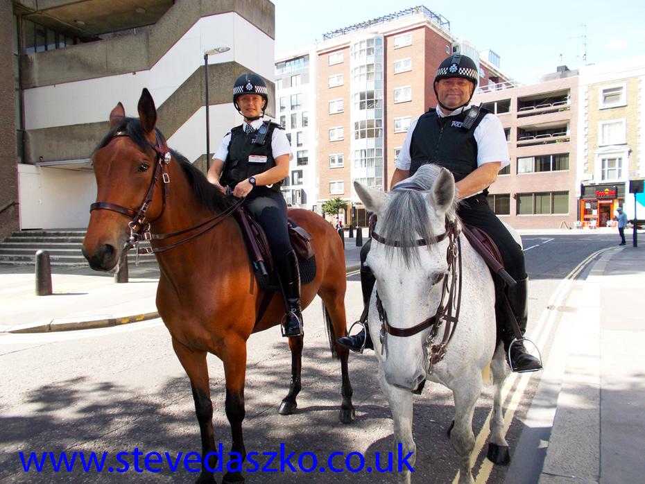COL Police in Fann Street