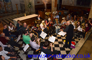 City of London Brass Band @ St .Giles on the 15th January 2014
