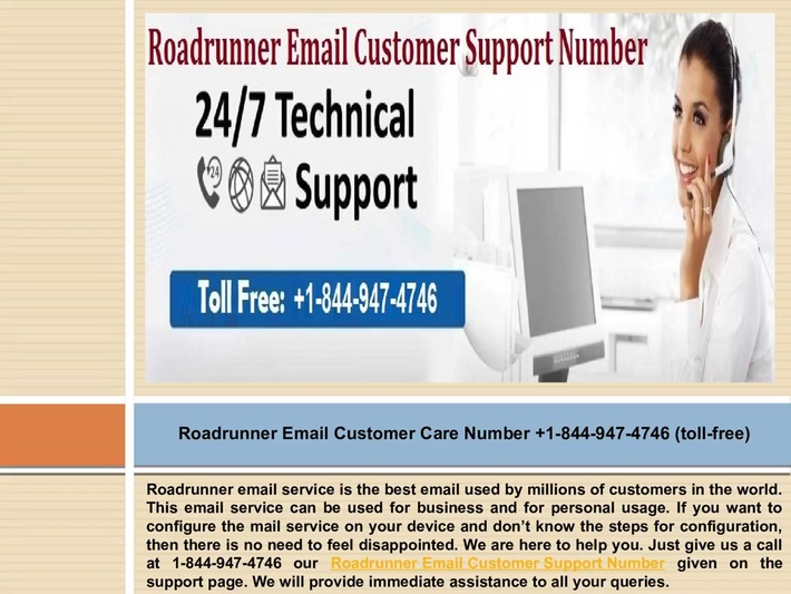 Roadrunner Email Support Phone Number +1-844-947-4746 for Instant Solutions