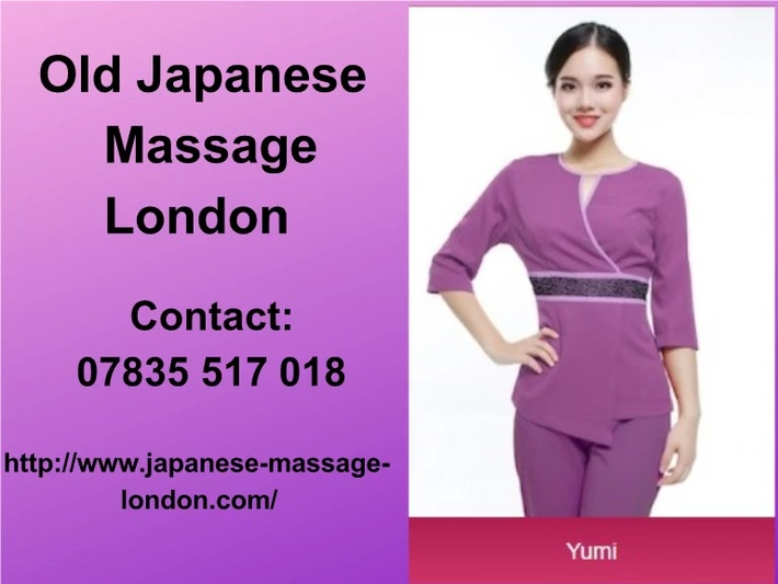 Contact to book Old or Authentic Japanese Massage in London