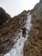 Cwm Idwall, Central Gully with Rick Riding