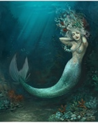 Mermaids, Merfolk, Undines and Nymphs