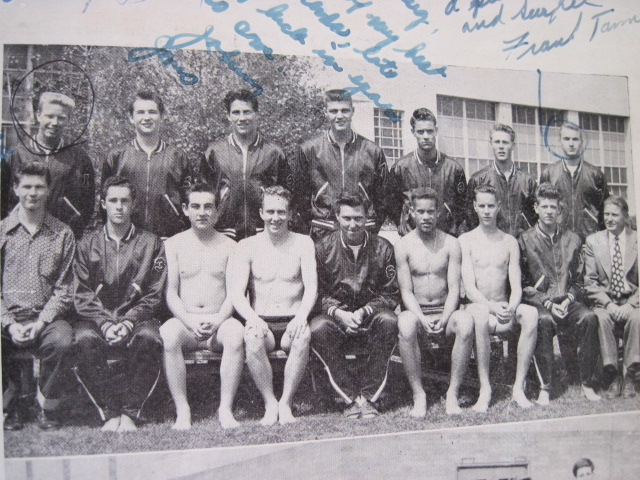 HHS first All City Swim Team 1949