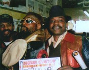 L-Eddie Hazel, Middle-George Clinton, R-Colley Bey