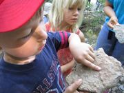 7/10/10 Fossil Hunt- Lilydale, MN