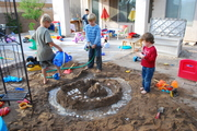 Sand Castles in the back yard of AZ.