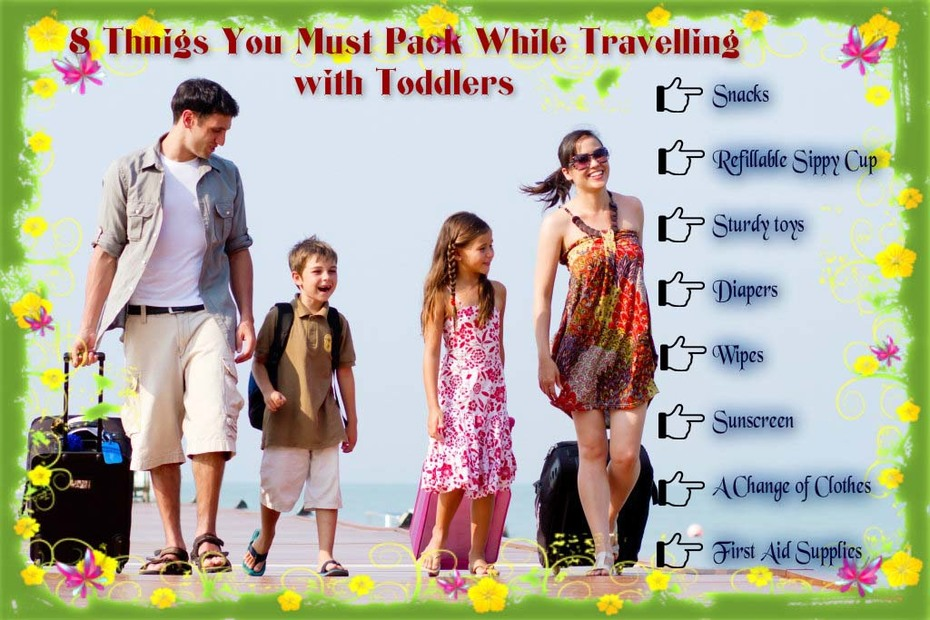 Traveling Checklist for your kids