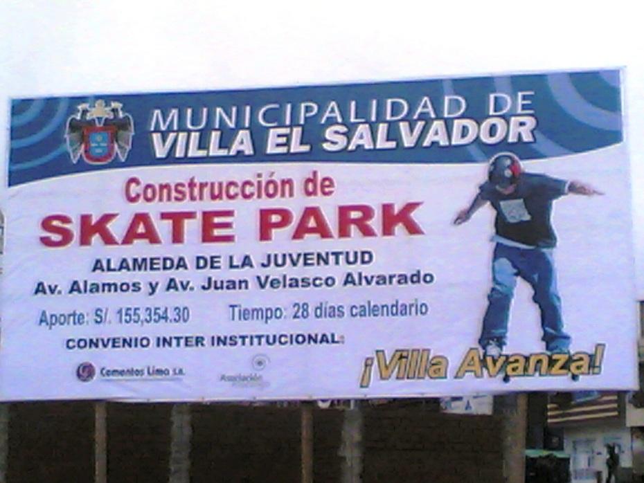 SKATEPARK VILLA EL SALVADOR