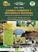 FORO CAMBIO CLIMÁTICO Y DESARROLLO REGIONAL: Desafíos y Oportunidades para la Macrorregión Norte