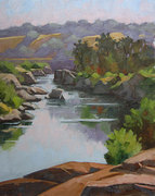 American River Morning  8x10