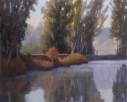 On the Pacheco Pond Path III 16x20