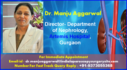 Dr. Manju Aggarwal Committed to First Patient Care in Nephrology
