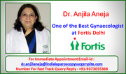 Dr. Anjila Aneja Best Gynaecologist in Gurgaon Offers Personalized Care, Effective Solutions to Every Women