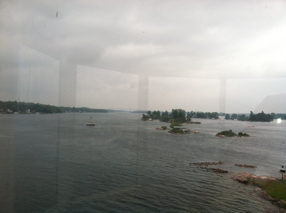 View From Rock Island Lighthouse