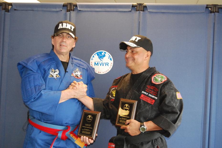 Granmaster  Frank Dux Grandmaster Soke                 Dr.Irving Soto