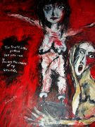 The Truth in this picture  Acryl auf Tuch 160 x 116 cm
