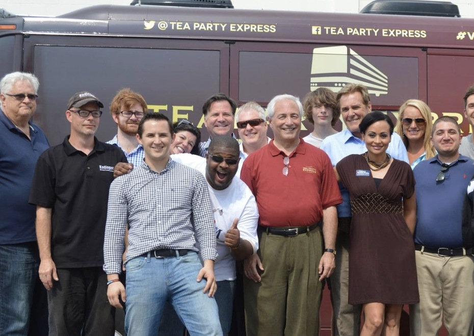 Traveled with Tea Party Express on National Bus Tour