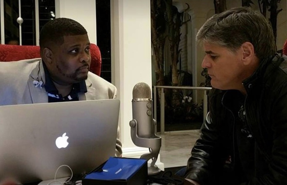 Interviewing my big brother Sean Hannity