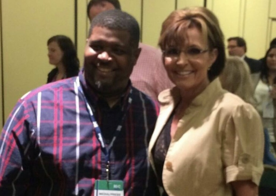 With Sarah Palin at Republican Leadership Conference in Louisiana