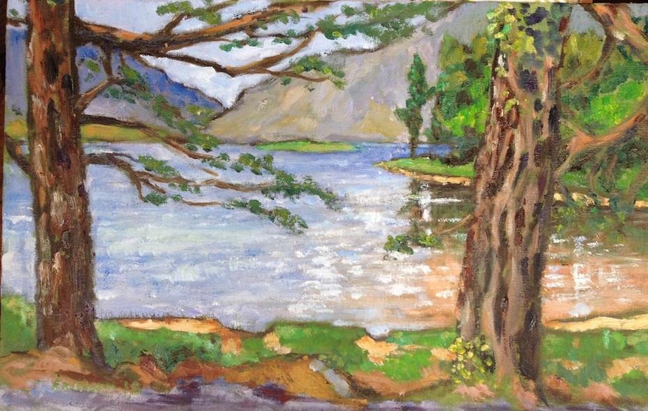 cois loch gleann bheatha 18