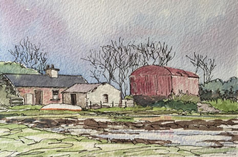 Maggie's cottage , Kellystown, Sligo