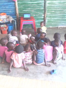 children are the image of what is happening you can tell if she\he is from a rich\poor family