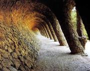 De zuilen ter ondersteuning - Gaudi