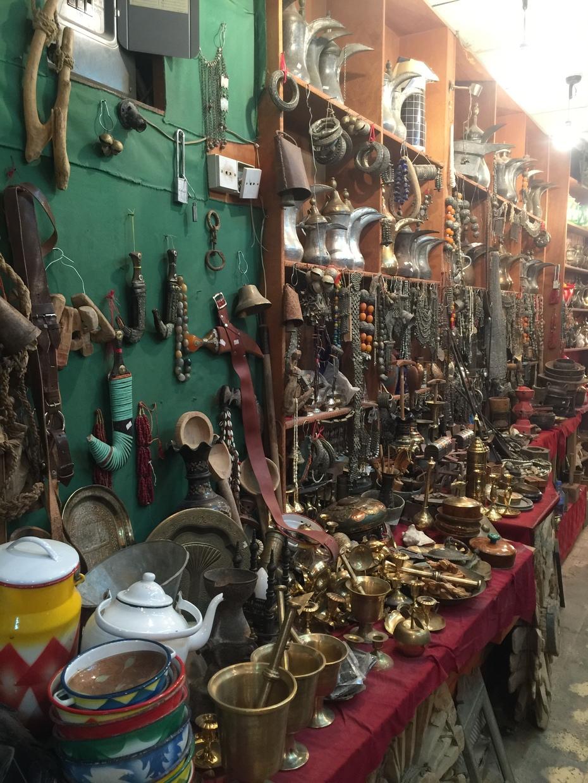 Silver Shop - Souk Al-Zall Riyadh - Ethnic Jewels
