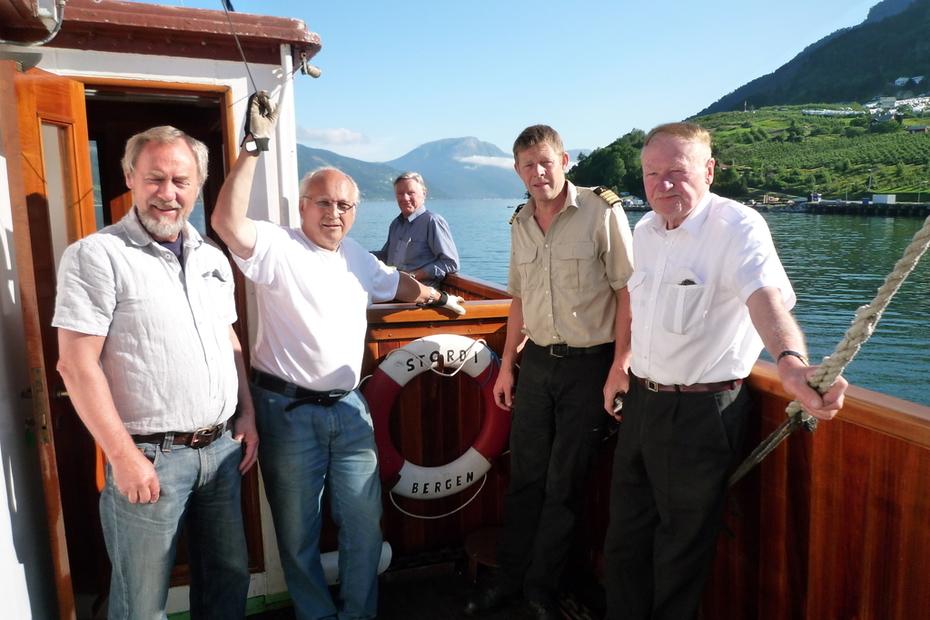 DS Stord I på tur til indre Hardanger juli 2011