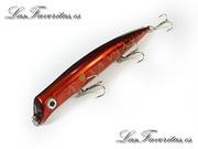 Señuelos artificiales de superficie popper nuevos colores catalogo 2013 para lubina bass pescar tienda de pesca online envio 24 en ho