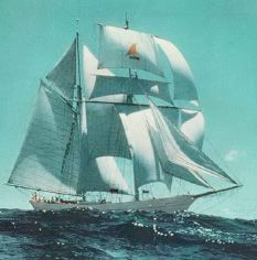 Yankee Under Sail and in all her Glory