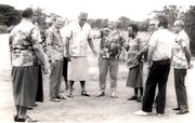 5th South Pacific Forum Rarotonga, Cook Islands during the 20-22 March 1974