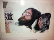 Great photo of John and Yoko