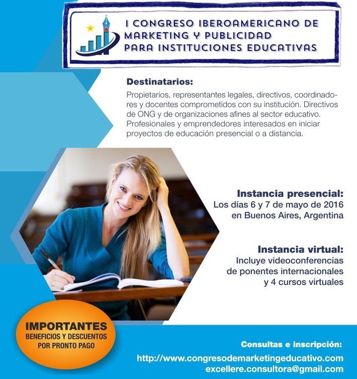 Marketing Educativo Congreso Iberoamericano