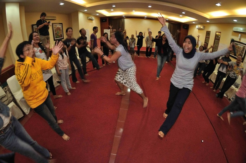 Cultural dancing with a twist