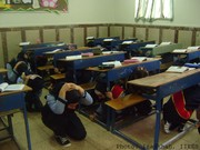 School Earthquake and Safety Drills