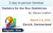 Statistics for the Non-Statistician