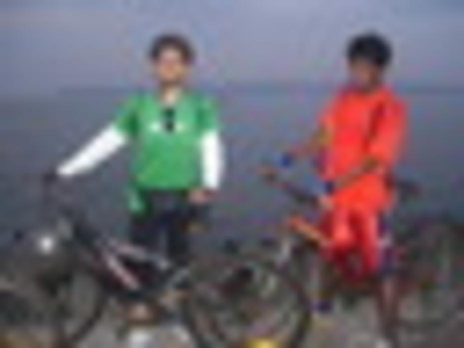Nariman Point at 07am