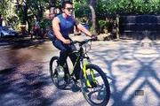 Singer-turned-host-turned-actorAditya ​ Narayan prefers to cycle his way to work