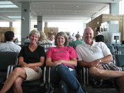 Waiting to fly to boot camp 19 Aug 09