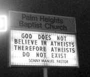 Atheists Don't Exist!