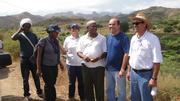 Equipe de trabalho em Cabo Verde